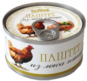 Паштет куриный Tiga food, 80г