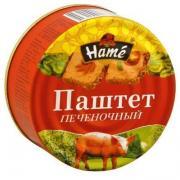 Паштет Hame Из свиной печени ж/б