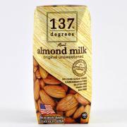 Молоко миндальное без сахара 137 Degrees, 180мл