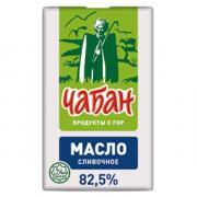 Нальчикский МК Масло сливочное Чабан 82,5% БЗМЖ 180 гр