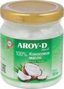 Масло кокосовое Extra Virgin AROY-D, 180 мл.