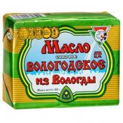 Масло из Вологды сливочное Вологодское 82,5% БЗМЖ 180 гр