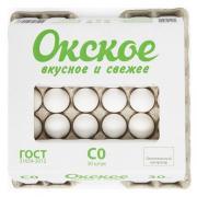 Яйцо куриное Окское С0 белое 30 шт.
