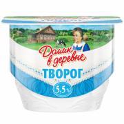 Творог мягкий Домик в деревне 5,5% ванна
