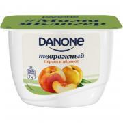 Продукт творожный Danone персик-абрикос 3.6% 170 г