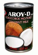 Кокосовое молоко, жирность 17-19 % (Aroy-D, Арой-Д), 400 мл.