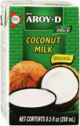 Кокосовое молоко, жирность 17-19 % (Aroy-D, Арой-Д), 250 мл.