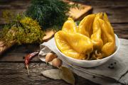 Перец Традиции вкуса отварной острый соленый ~1 кг