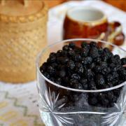 Черёмуха, ягода сушёная