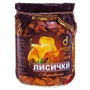 Лисички Ecofood Russia маринованные 520 гр