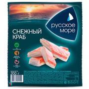 Крабовые палочки Русское море Снежный краб охлажденные 200 гр
