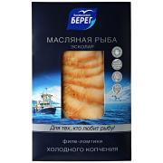 Масляная рыба Балтийский берег холодного копчения ломтики 150 г