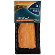 Горбуша Русское море горячего копчения филе 200 г