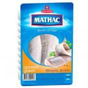 Сельдь Матиас филе с ароматом дыма 250 гр