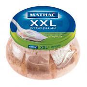 Сельдь Матиас филе кусочки с луком 260 гр