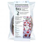 Хлеб ZbreadD цельнозерновой белково-полбяной №6 с ягодами годжи и семенами чиа 290 гр