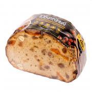 Хлеб из смеси рж/пш муки «Юбилейный» с орехами и сухофруктами 250г