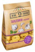 Изделия х/б Nina Farina тараллини с чесноком 180 г