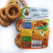 Сушка Иван Да морковная цельнозерновая на закваске на фруктозе 150 г