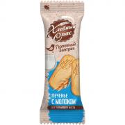 Печенье Хлебный Спас Сдобное Полезный завтрак с молоком 1 брикет 32г