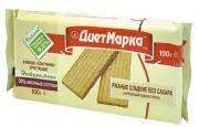 ДиетМарка Хлебцы-пластинки ржаные с овсяными отрубями СЛАДКИЕ без САХАРА, 100 гр, ДиетМарка