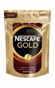 Кофе растворимый Nescafe Gold, пакет 500 г