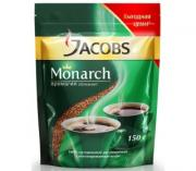 Кофе растворимый JACOBS Monarch, 150г
