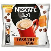 Кофе Nescafe Карамель растворимый 3в1 (50 пак x 14.5 гр)