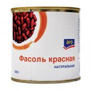 Фасоль Aro красная в собственном соку 420 гр