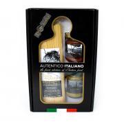 001 Набор подарочный AUTENTICO ITALIANO (спагетти, соус с базиликом, соус песто по-генуэзски)