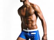 Мужские плавательные шорты синие SUPERBODY 34841