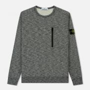 Мужская толстовка Stone Island Zip Pocket Front Charcoal