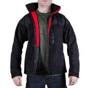 Куртка Штурм, чёрная - мембрана, флис, кордура
