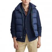 Куртка La Redoute Стеганая без рукавов на молнии утепленная S синий