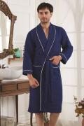 Банный халат Karna банный Ti Цвет: Синий (xL)