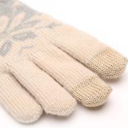 Перчатки для сенсорных устройств Xiaomi Mi Wool Touch Gloves бежевый