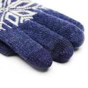 Перчатки для сенсорных устройств Xiaomi Mi Wool Touch Gloves синий