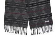 Шарф Шерстяной шарф, мужской серый 30063