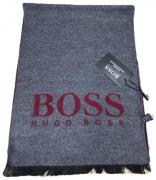 Шарф мужской теплый BOSS серый 130103