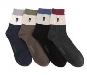 Носки мужские от VIVID: Носки хлопковые мужские высокие 1 пара ? Vivid Man-GENTLEMAN Warm Heart Socks 1 пара