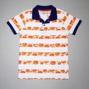 Футболка-поло для мальчика (апельсины), арт 66833, р. 128