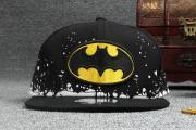 Детская кепка с прямым козырьком по мотивам кинофильма/комикса Бэтмен Марвел (Бейсболка Batman Marvel) черная
