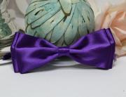 Галстук-бабочка для праздника, мальчишника, фотосессии(фиолетовый)