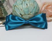 Галстук-бабочка для праздника, мальчишника, фотосессии(бирюзовый)