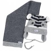 Chicco Шапка с шарфом для мальчиков
