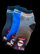 Носки детские 3 пары махровые размер 26-31 Алиша 3506-2