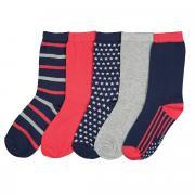 Комплект из пар носков La Redoute Размеры - 31/34 синий