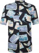 Рубашка с коротким рукавом мужская Quiksilver Vacancy, размер 52-54