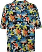 Рубашка с коротким руковом мужская Quiksilver OG Camp Star, размер 48-50