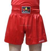 Шорты для тайского бокса AML - красные